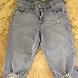 Old Navy Midrise rockstar skinny jeans